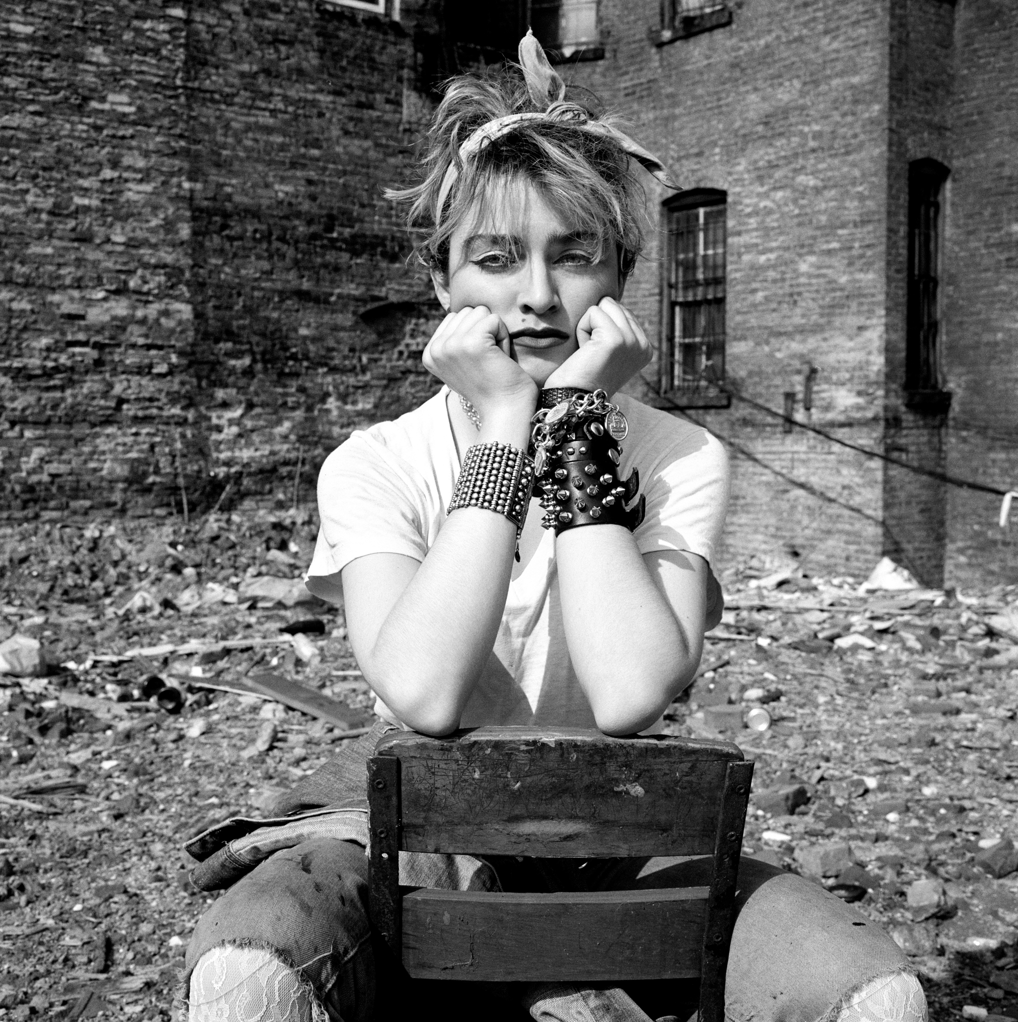 Madonna in Rubble 4